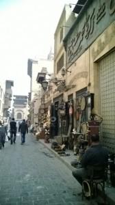 المحال بشارع المعز