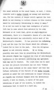 وثيقة بريطانية عن نشاط الإخوان 1952 _5