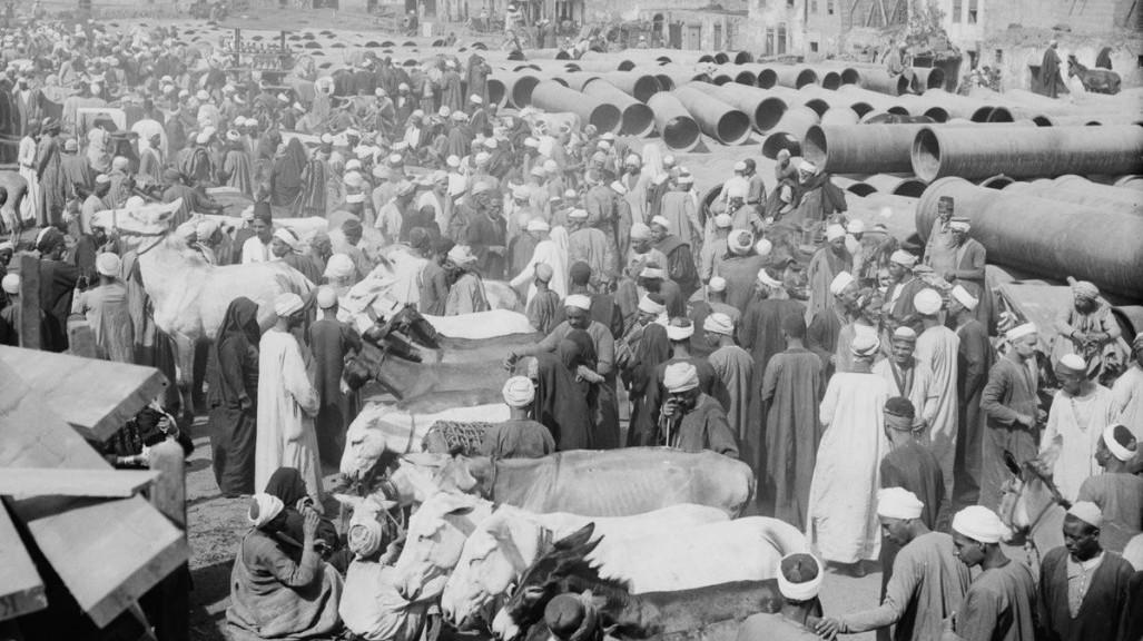 سوق الحمير - القاهرة 1900